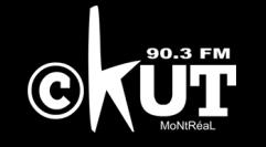 CKUT 90.3 FM Montreal Logo