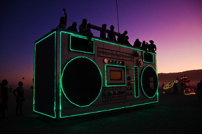 Burning Man Boombox