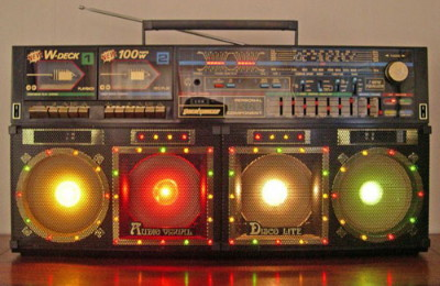 Disco Light Boombox