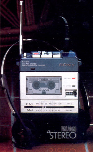 Sony Microcassette