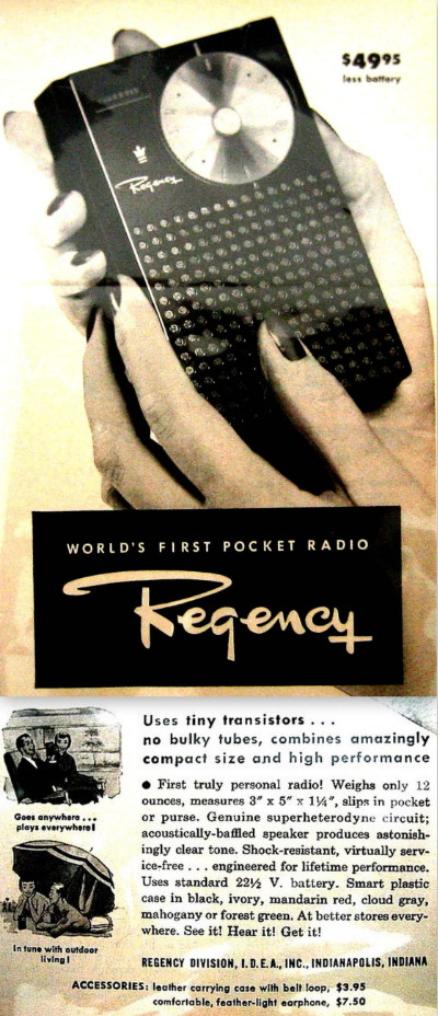 First Pocket Radio