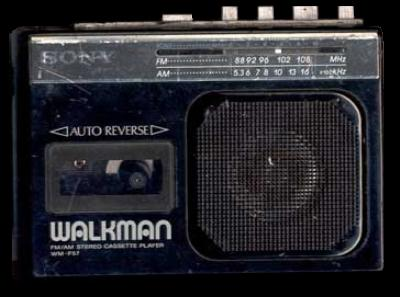 Walkman With Speaker