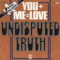 "Post image for The Undisputed Truth ""You+Me=Love"""